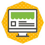 icon of an online store